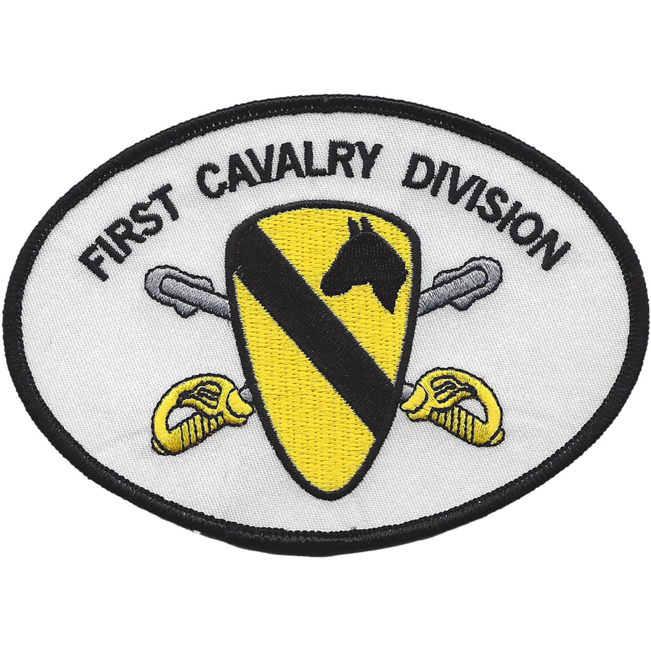 BRAND NEW VIETNAM 1ST CAVALRY ARMY MILITARY BIKER IRON ON PATCH