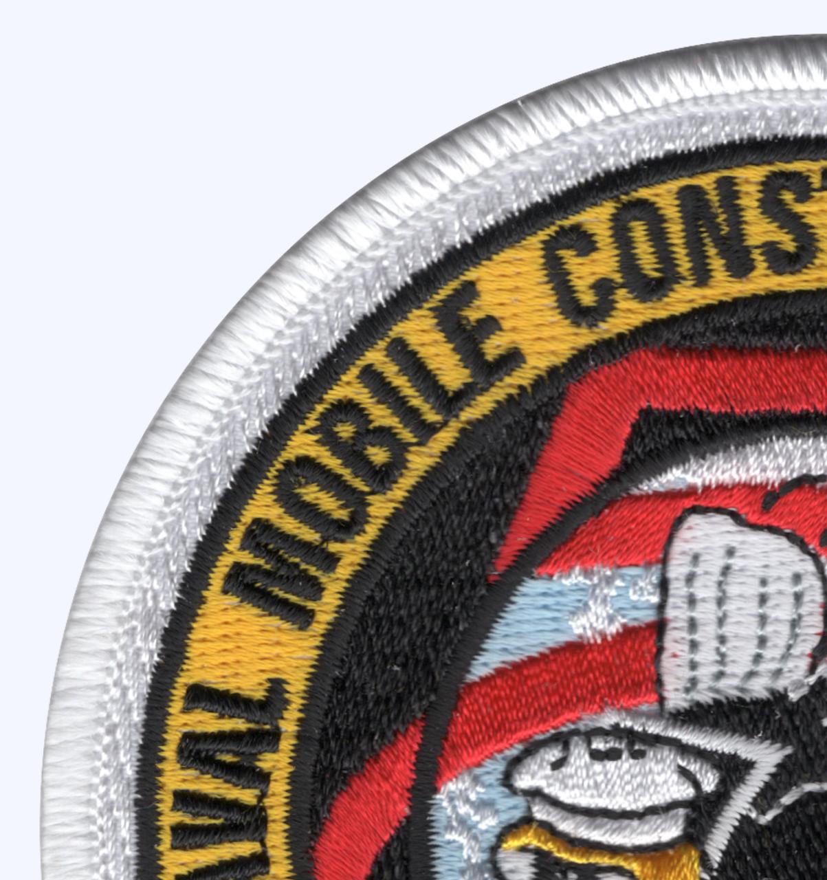 5th Mobile Construction Battalion The Professionals Patch