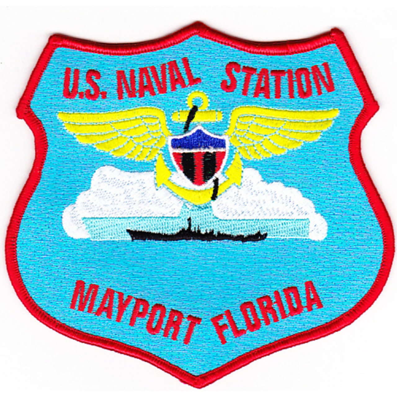 US Navy Base Patch,Mayport Naval Station Florida Y