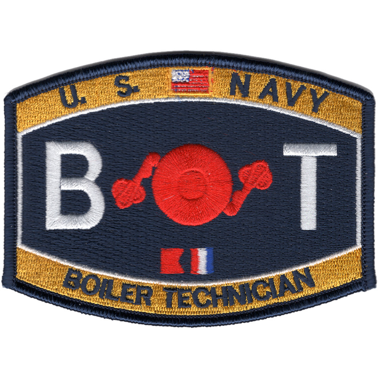 Engineering Rating Boiler Technician Patch | Ratings Patches | Navy Patches  | Popular Patch