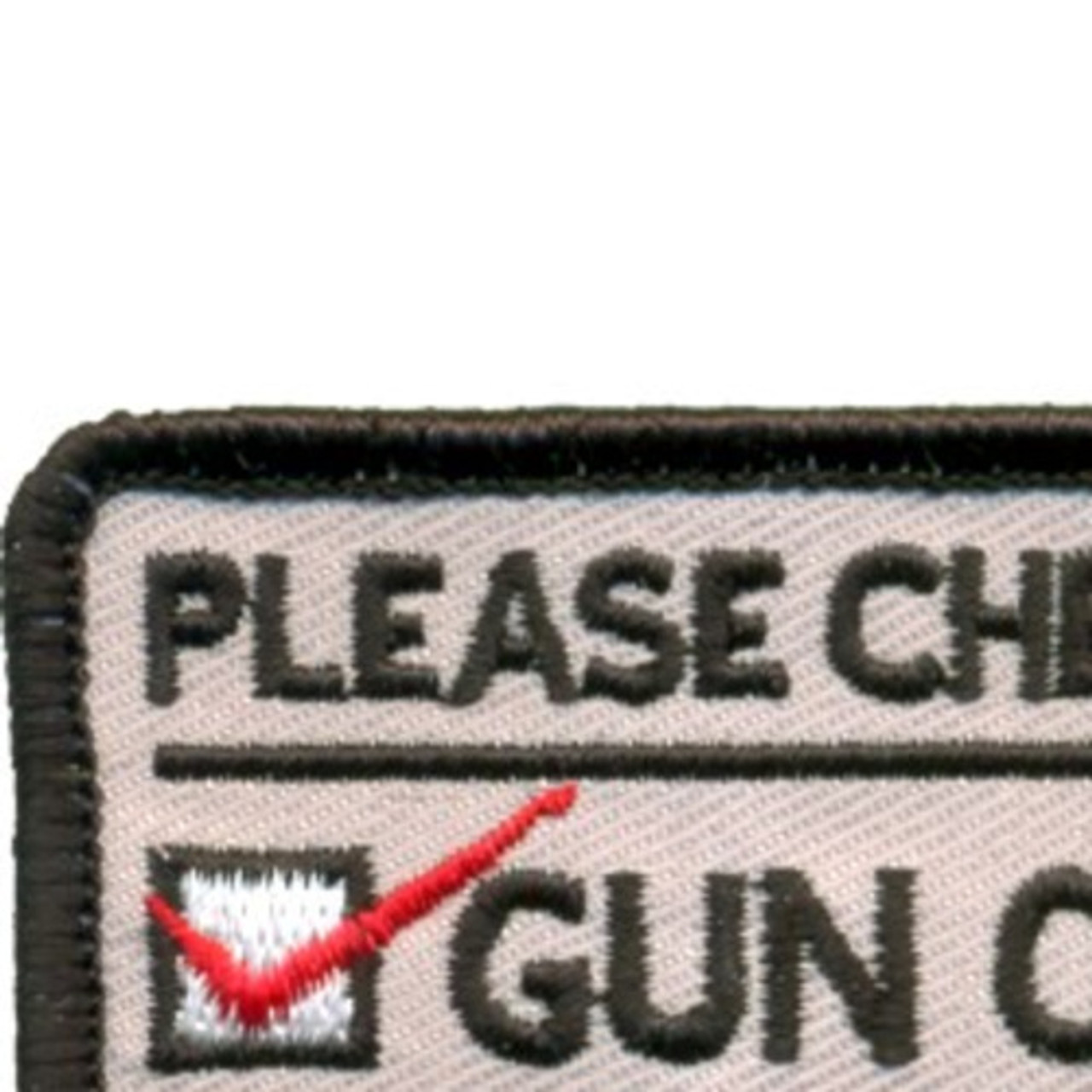 Gun Owner Or Victim Patch