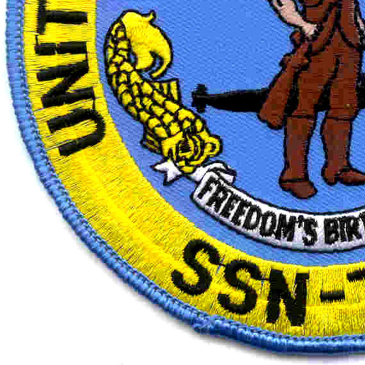 USS Boston SSN 703 Crest BC Patch Cat No C5441