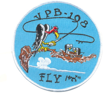 VPB-198 Aviation Patrol Bomber Squadron Patch