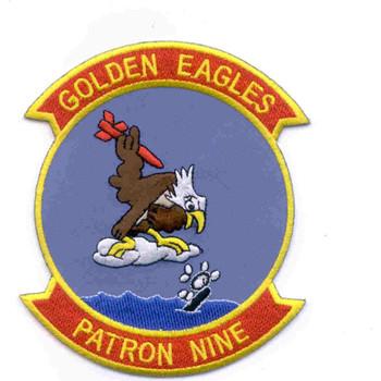 VP-9 Patch Golden Eagles