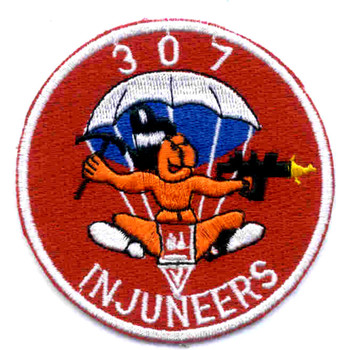 307th Engineer Battalion Patch - B Version