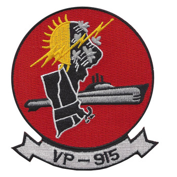 VP-915 Patrol Squadron Patch