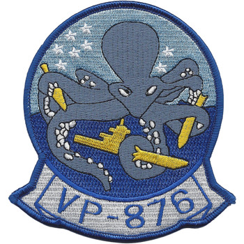 VP-876 Patrol Squadron Patch