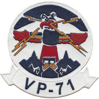 VP-71 Patrol Squadron Thunderbird Patch