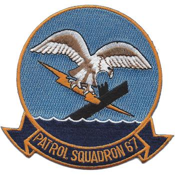 VP-67 Patrol Squadron Patch
