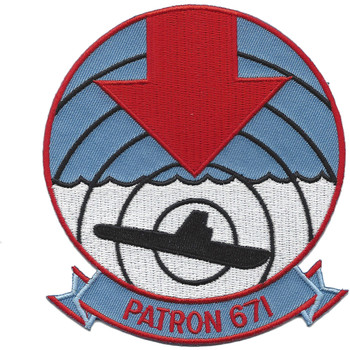 VP-671 Patrol Squadron Patch
