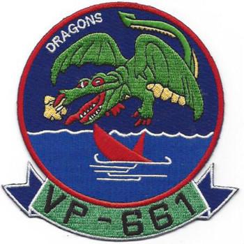 VP-661 Aviation Patrol Squadron Patch
