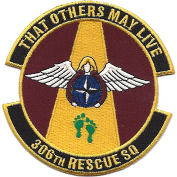 306th Rescue Squadron Patch