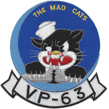 VP-63 The Mad Cats Patch
