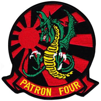 VP-4 Battle Flag With Skinny Dragon