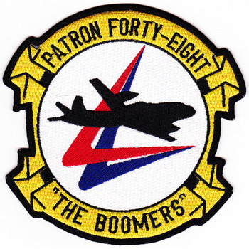 VP-48 Aviation Patrol Squadron Patch The Boomers