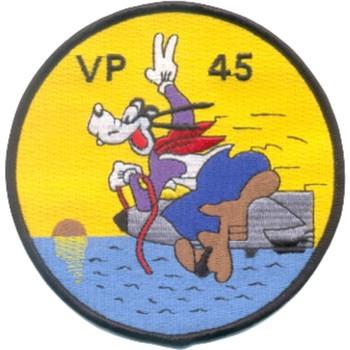 VP-45 Patrol Squadron Goofy Patch