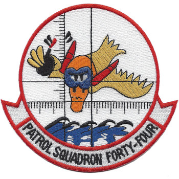 VP-44 Patrol Squadron Forty-four Patch