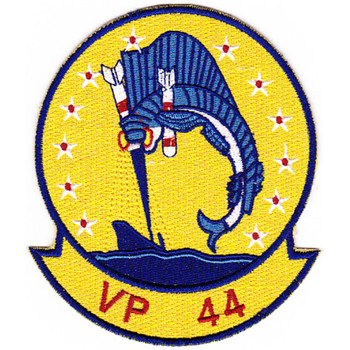 VP-44 Aviation Patrol Squadron Fourty Four Patch