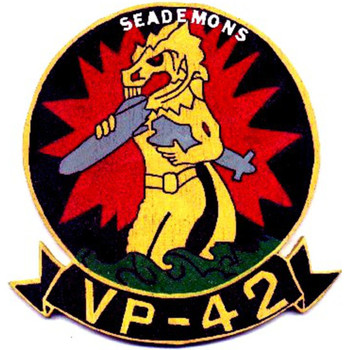 VP-42 Patch Sea Demons
