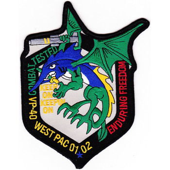 VP-40 Patch West Pac 01-02