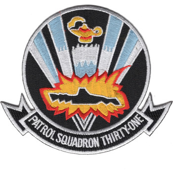VP-31 Patrol Squadron Patch