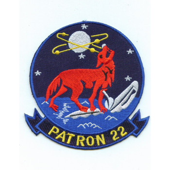 VP-22 Patch Howling Wolf