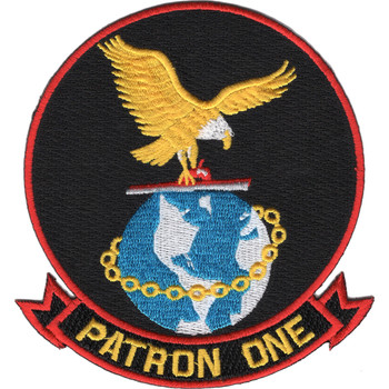 VP-1 Patrol Squadron One Patch