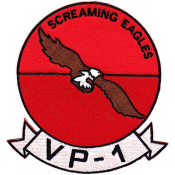 VP-1 Patch Screaming Eagles