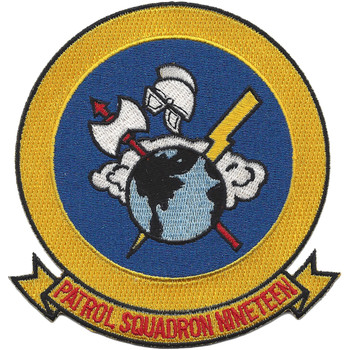 VP-19 Patrol Squadron Patch