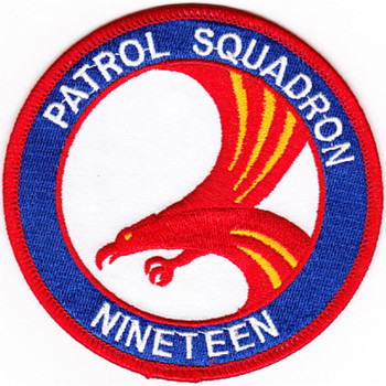 VP-19 Patch Big Red - Small Version