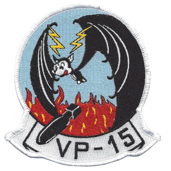 VP-15 Patrol Squadron Patch