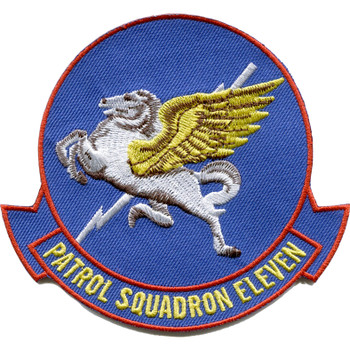 VP-11 Patrol Squadron Patch