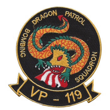 VP-119 Patrol Squadron Patch