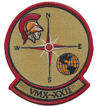 VMX-22 Operational Test and Evaluation Squadron Patch