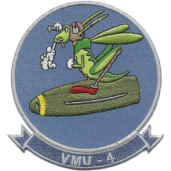 VMU-4 Unmanned Aerial Squadron Patch