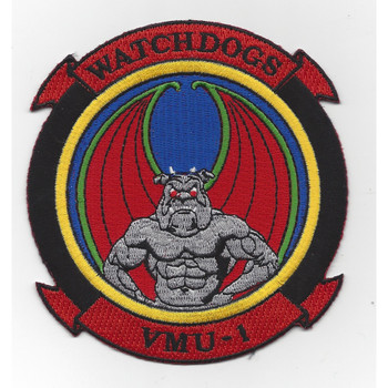 VMU-1 Unmanned Aerial Vehicle Squadron Patch