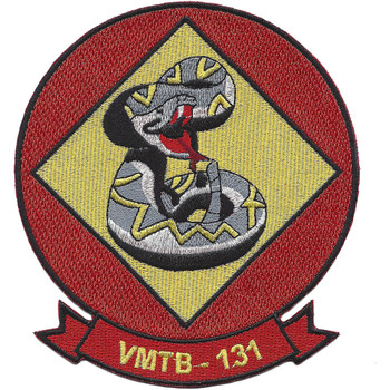 VMTB-131 Marine Torpedo Bomber Squadron Patch