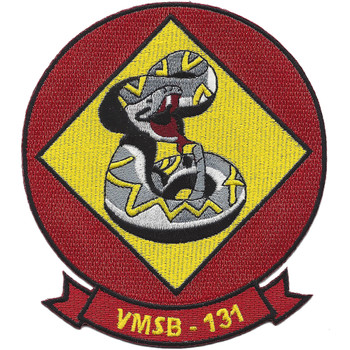 VMSB-131 Marine Scout Bombing Squadron Patch