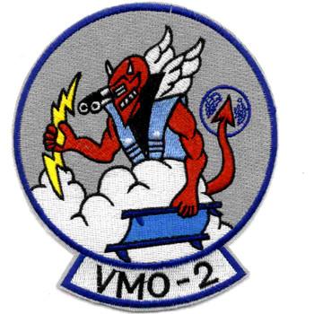 VMO-2 US Marine Corps Observation Squadron Patch Devil