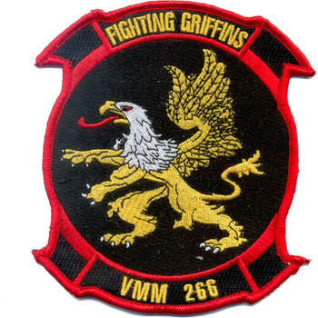 VMM-266 Marine Medium Tiltrotor Squadron Large Patch