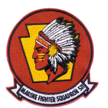 VMF-511 Fighter Squadron Patch