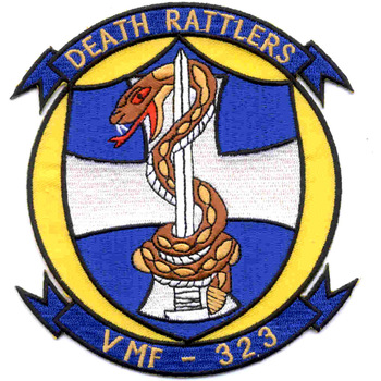 VMF-323 Patch Death Rattlers