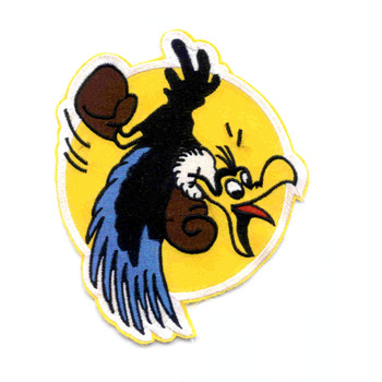 VMF-322 Fighter Squadron Patch Gamecocks