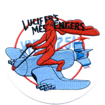 VMF-251 Fighter Squadron Two Five One Patch Lucifer's Messengers