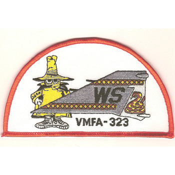 VMFA-323 Fighter Squadron Phantom Tail Patch