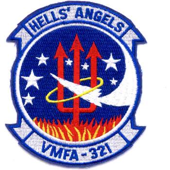 VMFA-321 Marine Fighter Attack Squadron Patch