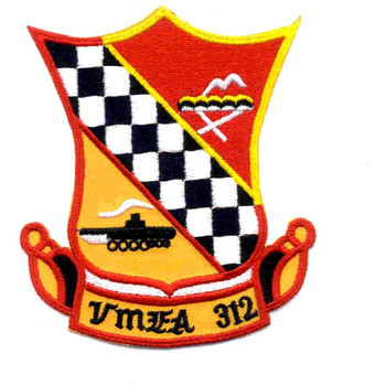 VMFA-312 Marine Fighter Attack Squadron Patch