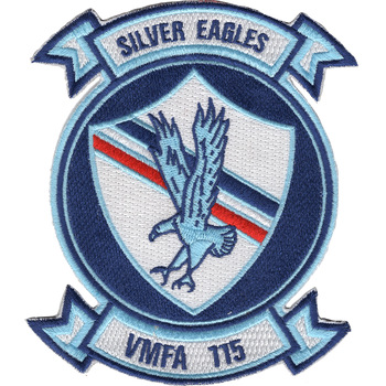 VMFA-115 Marine Corps Fighter Attack Squadron Silver Eagles Patch