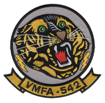 VMFA-542 Marine Fighter Attack Squadron Patch