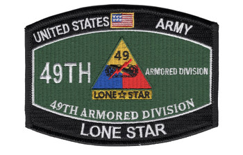 49th Armored Division Military Occupational Specialty MOS Patch